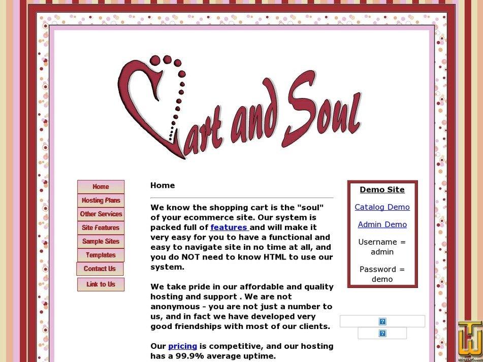 cartandsoul.com Screenshot