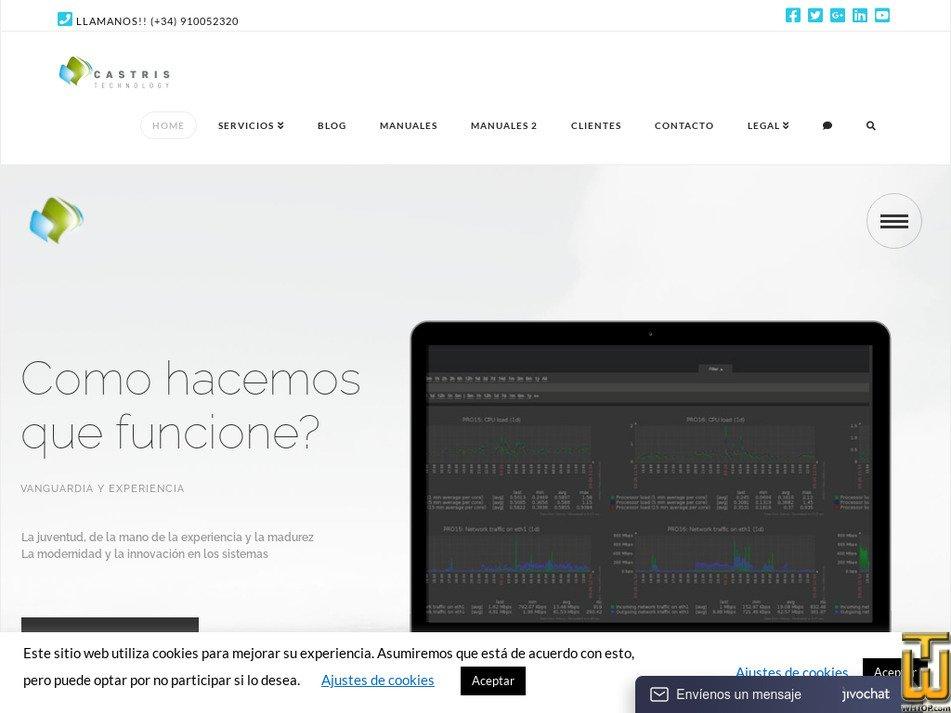 castris.com Screenshot