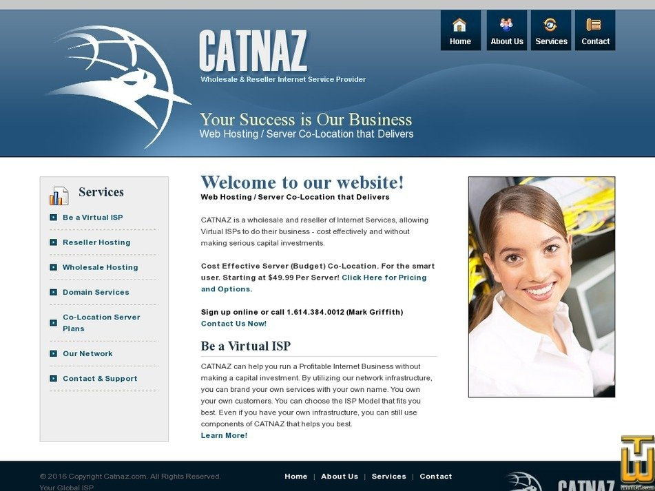 catnaz.com Screenshot