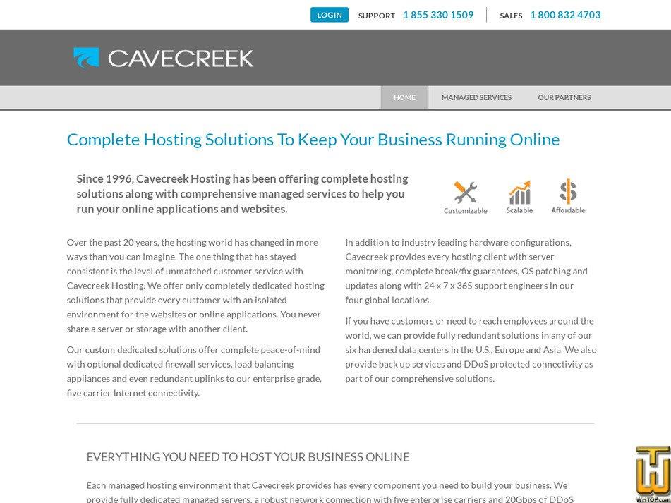 cavecreek.com Screenshot
