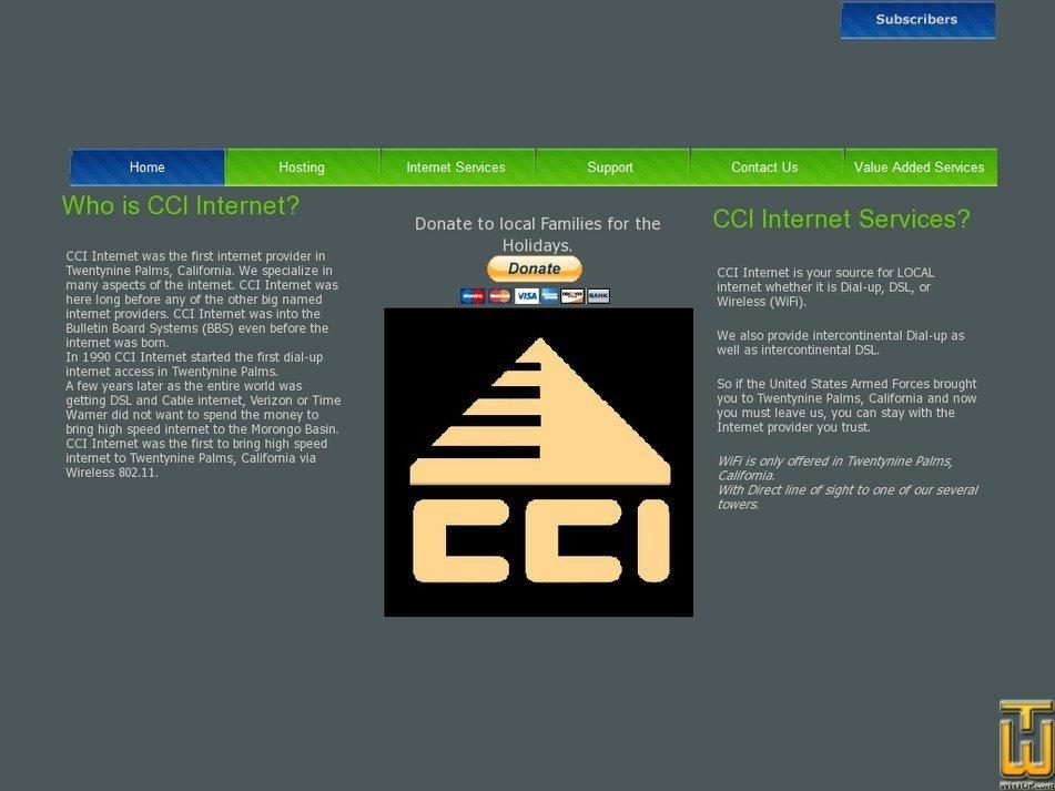 cciinter.net Screenshot