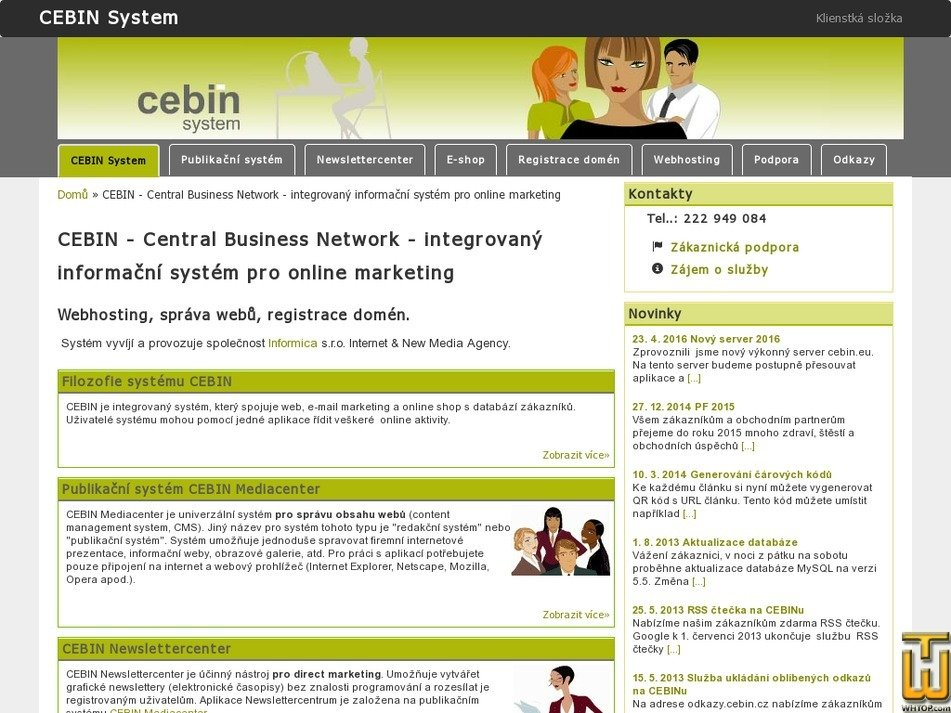 cebin.cz Screenshot