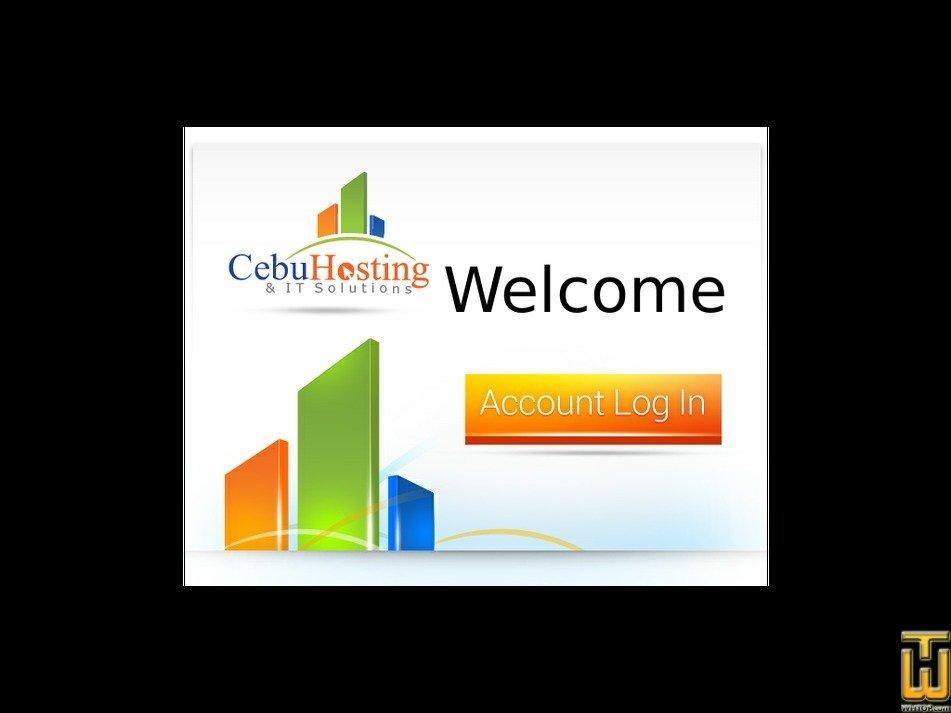 cebuhosting.com Screenshot