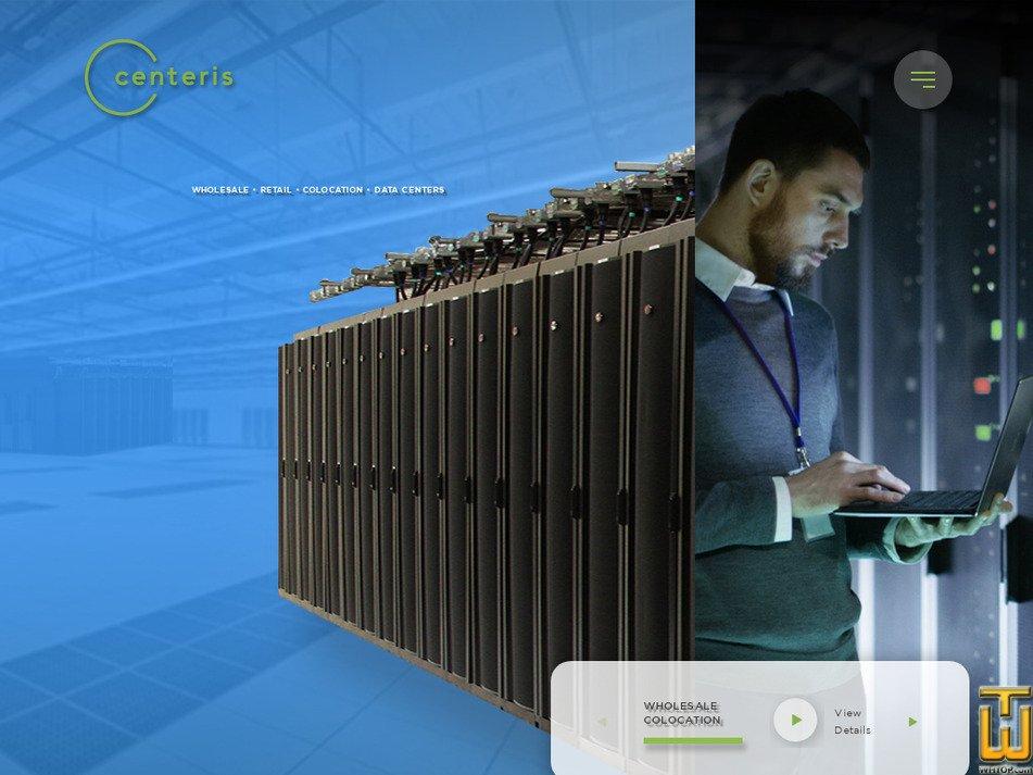 centeris.com Screenshot