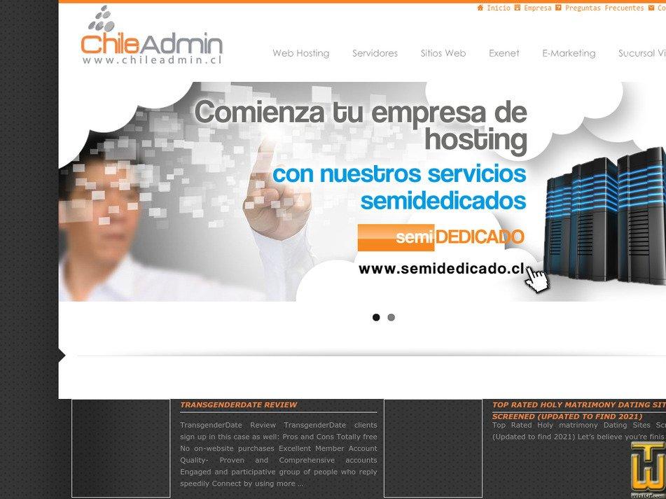 chileadmin.cl Screenshot