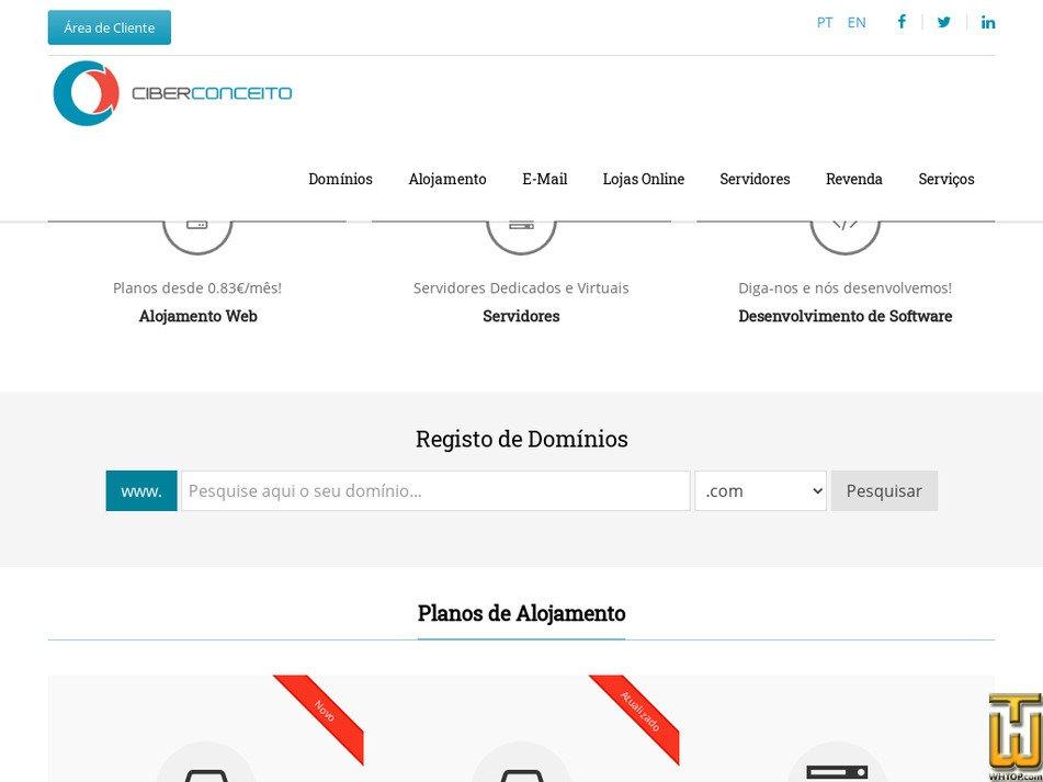 ciberconceito.com screenshot