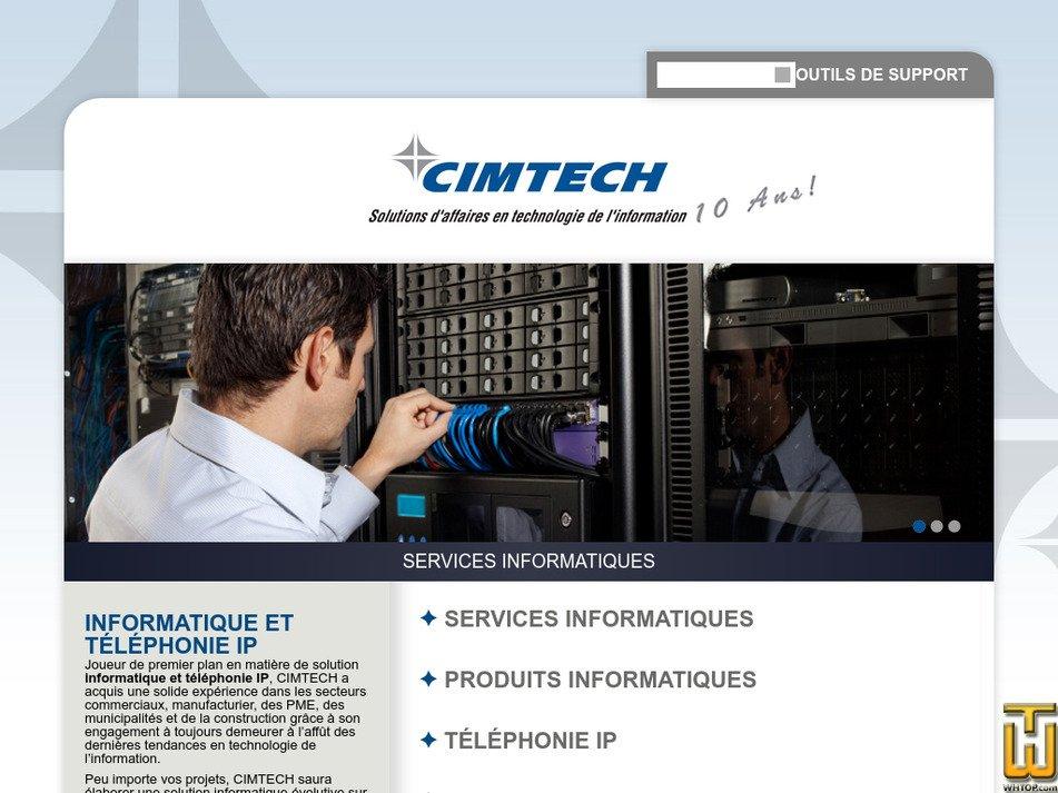 cimtech.ca Screenshot
