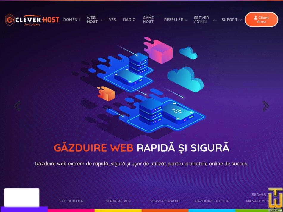 clever-host.ro screenshot