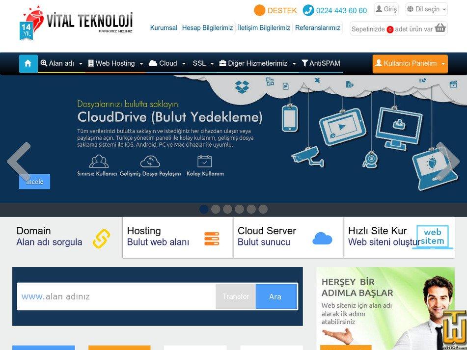 cloud.com.tr Screenshot