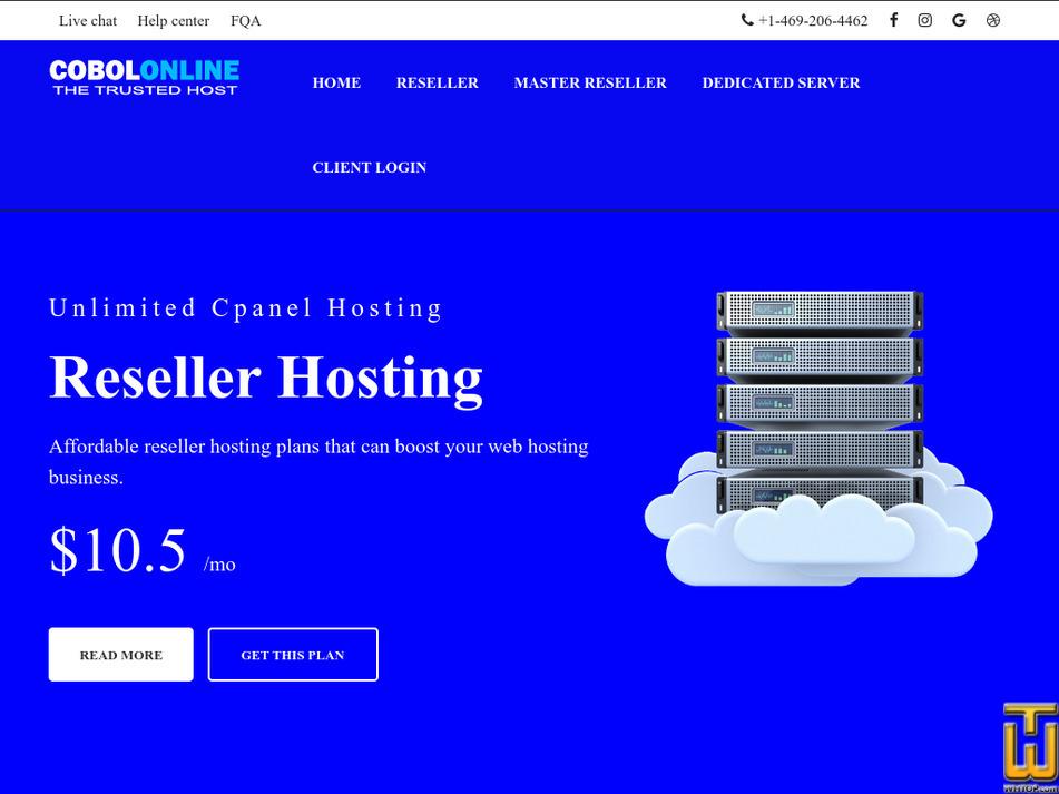 cobolonline.com Screenshot