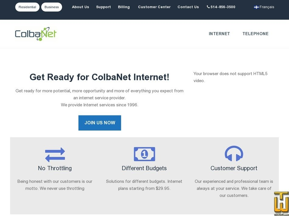 colba.net Screenshot