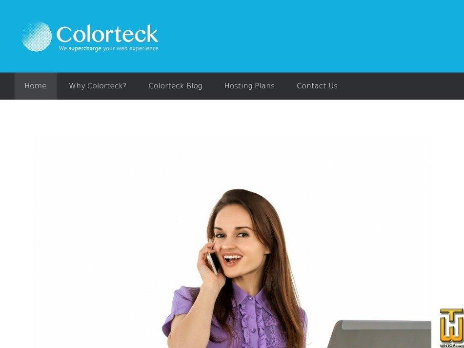 colorteck.com Screenshot