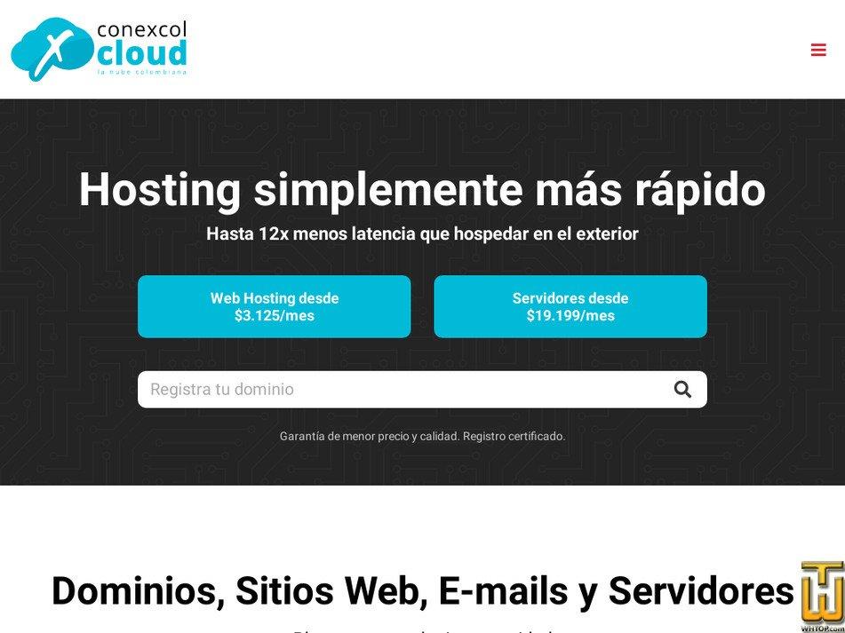 conexcol.net.co screenshot