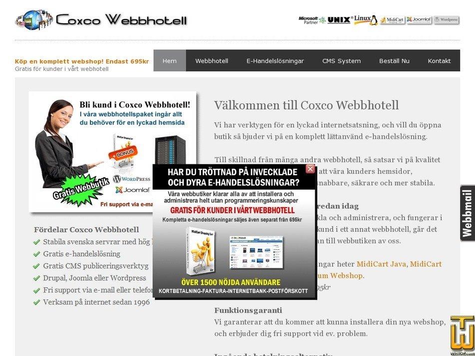 coxco.se Screenshot