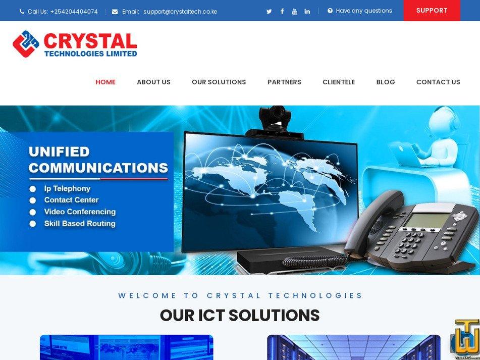 crystaltech.co.ke screenshot
