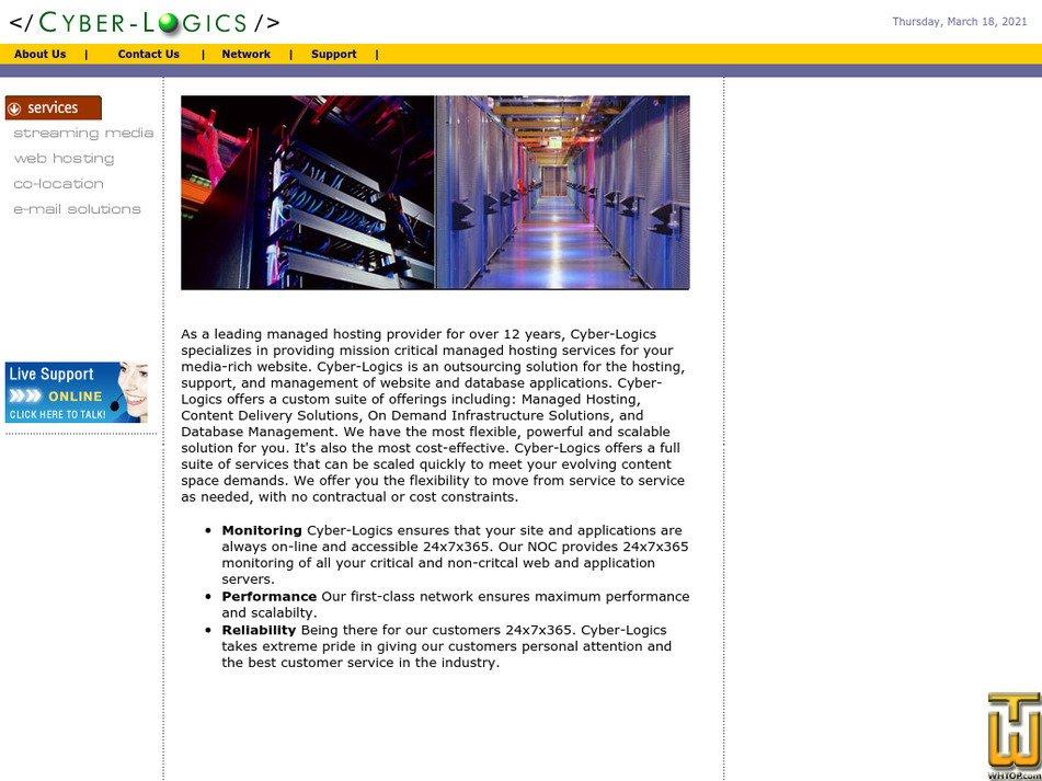 cyber-logics.com Screenshot