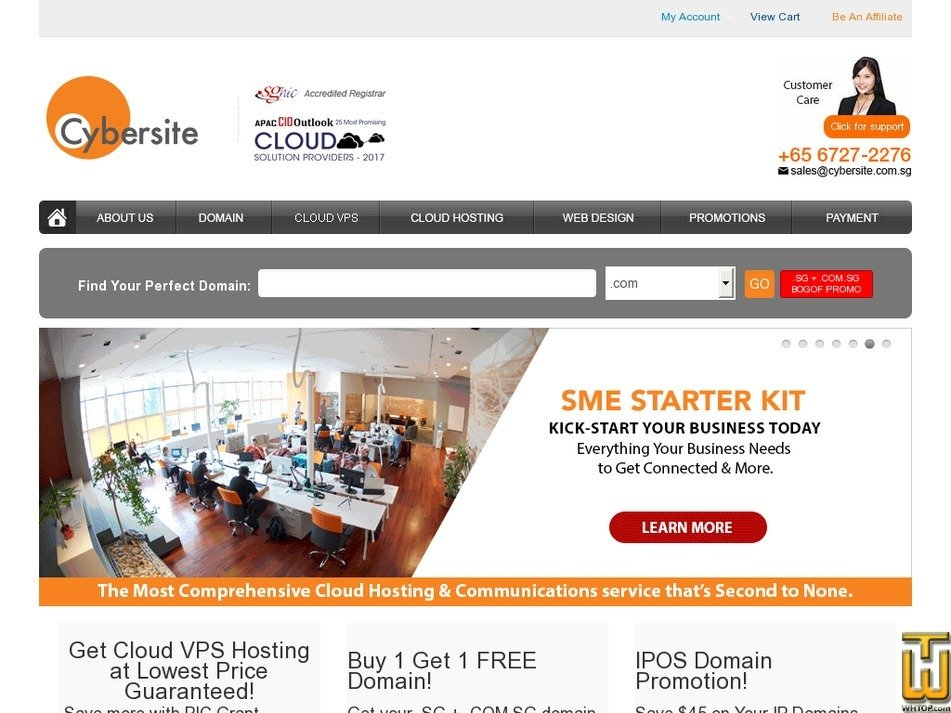 cybersite.sg Screenshot