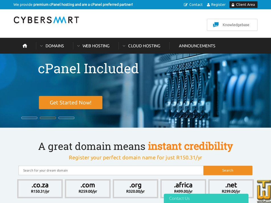 cybersmart.co.za Screenshot