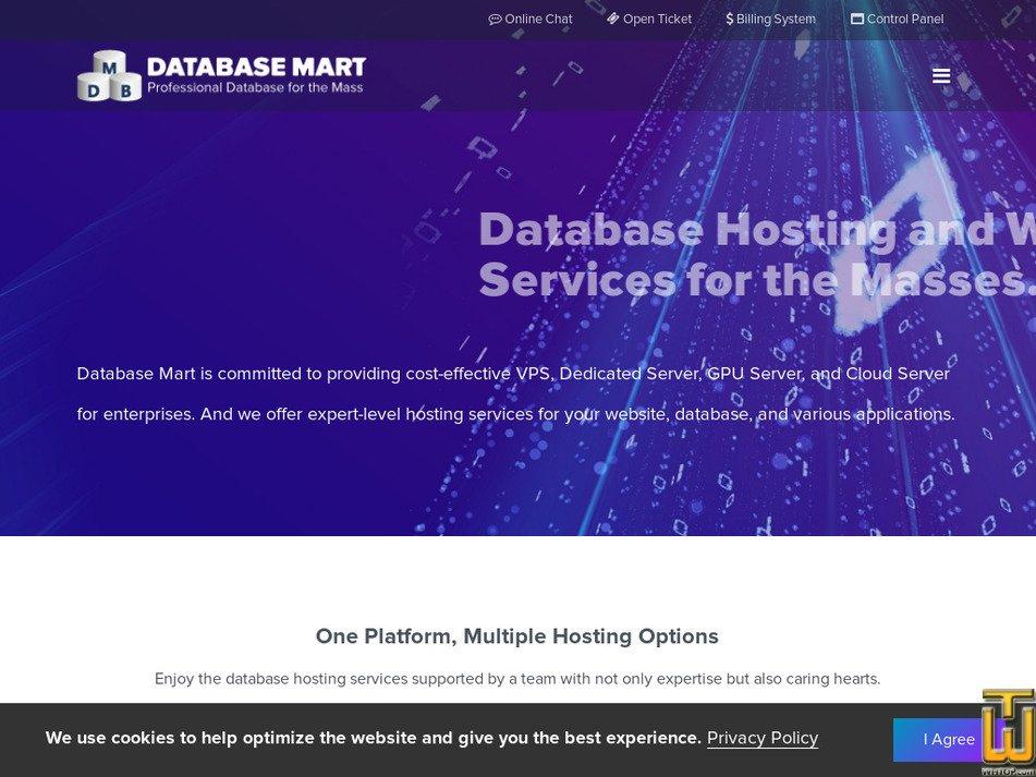 databasemart.com Screenshot