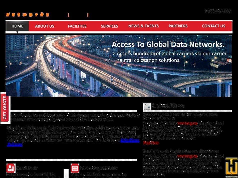 datacenterscanada.com Screenshot