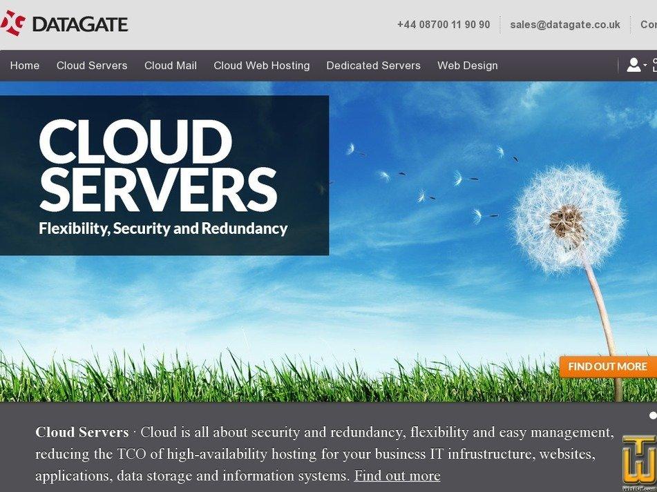 datagate.co.uk Screenshot