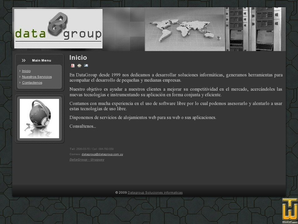 datagroup.com.uy Screenshot
