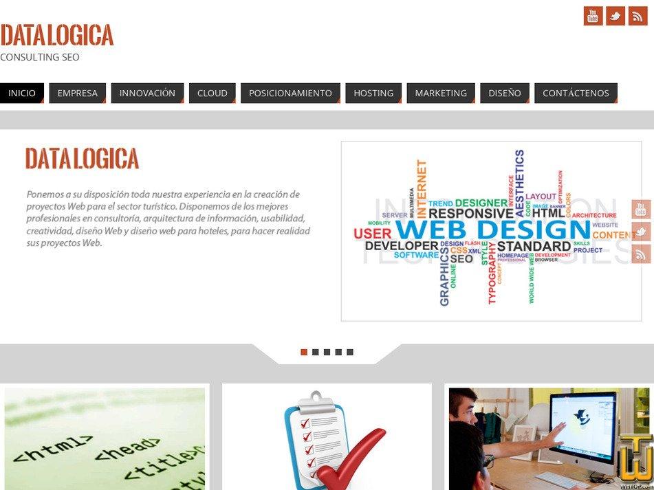 datalogica.cl Screenshot