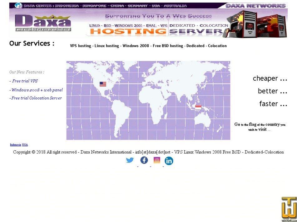 daxa.net Screenshot