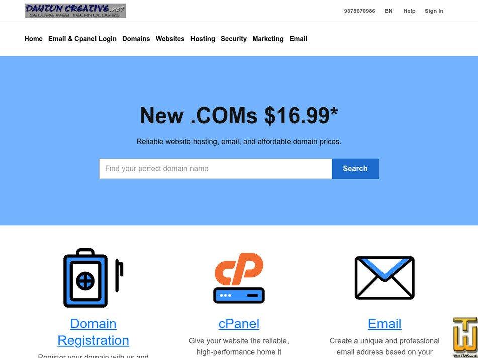 daytoncreative.net Screenshot