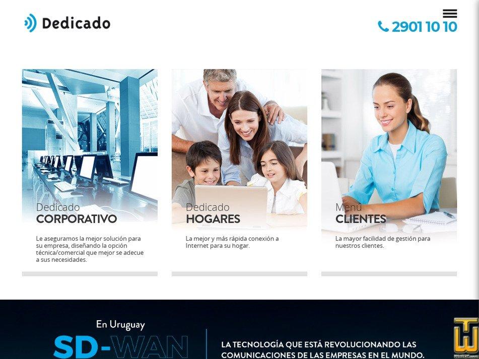 dedicado.com.uy Screenshot