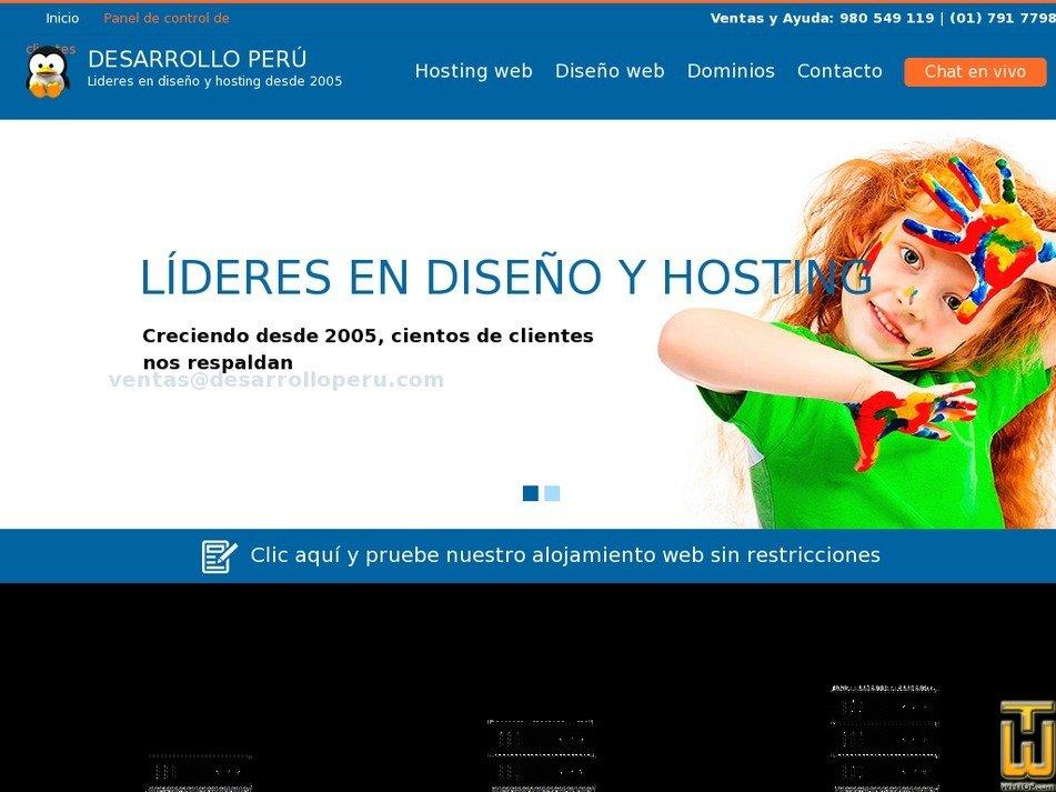 desarrolloperu.com Screenshot