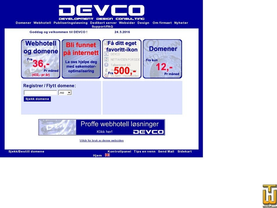 devco.no Screenshot