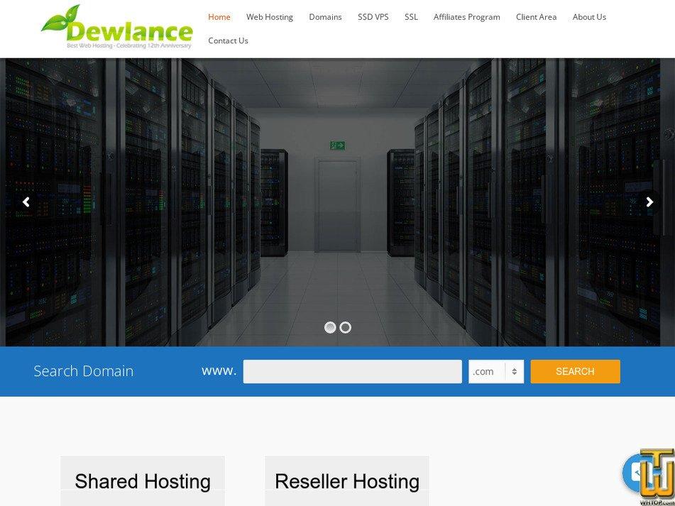 dewlance.com Screenshot