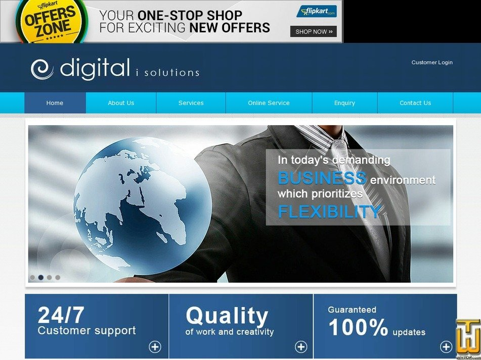digitalisolutions.in Screenshot