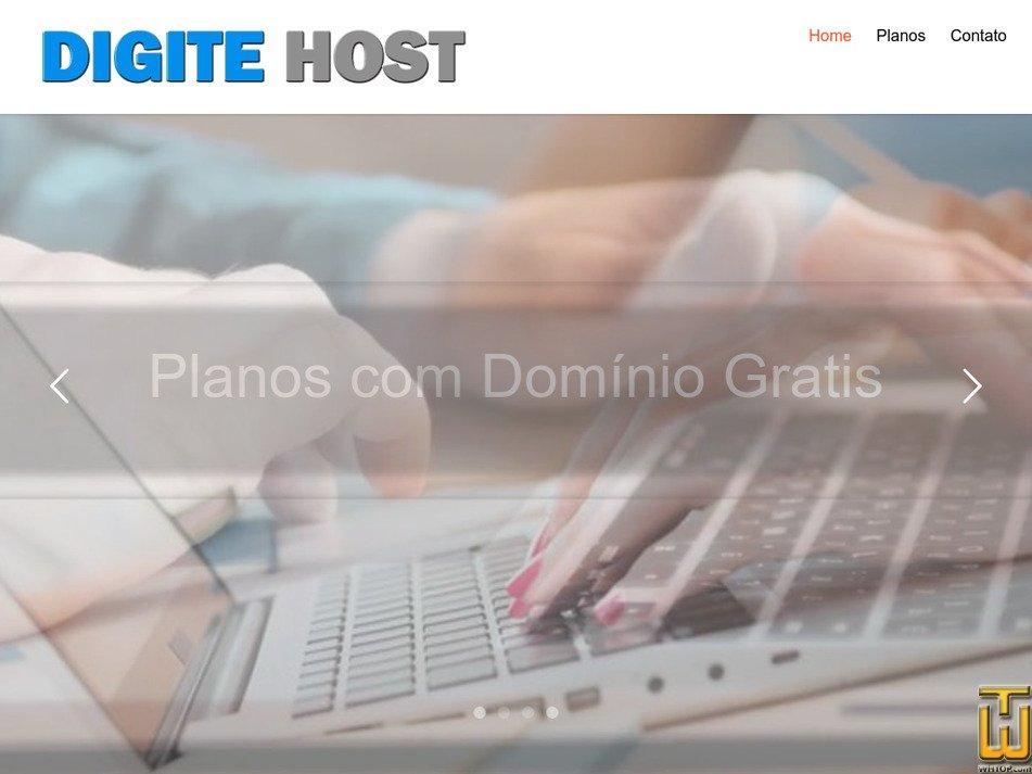 digitehost.com.br Screenshot