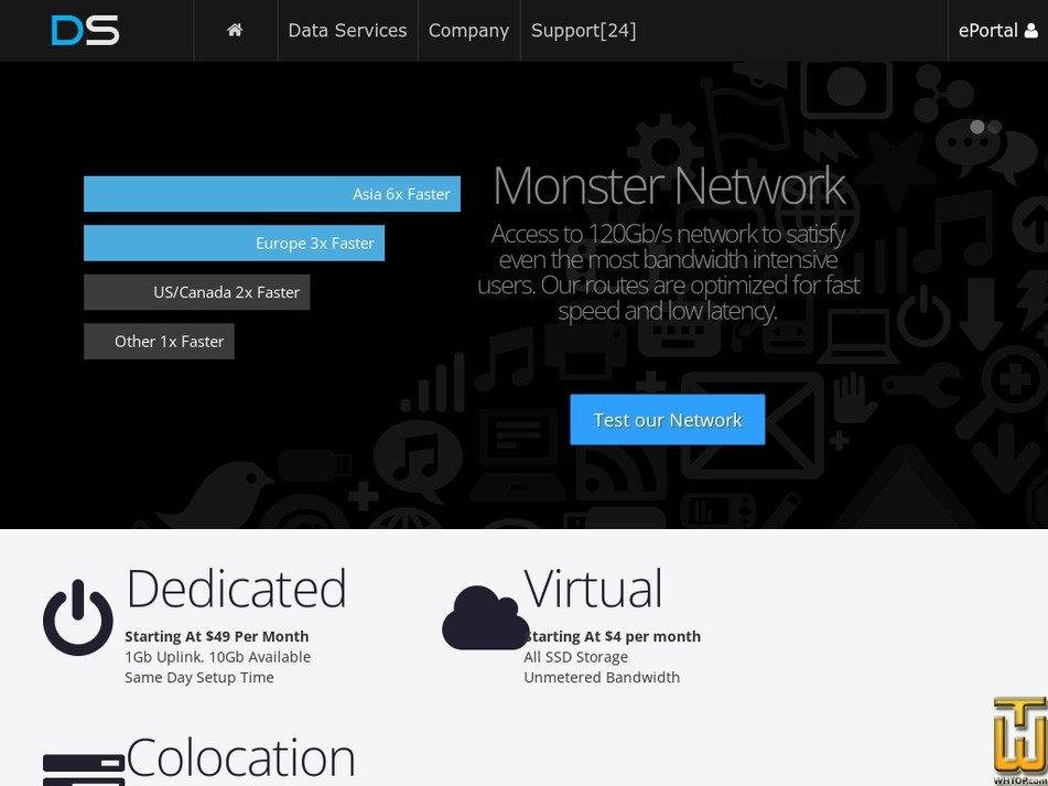 directspace.net Screenshot