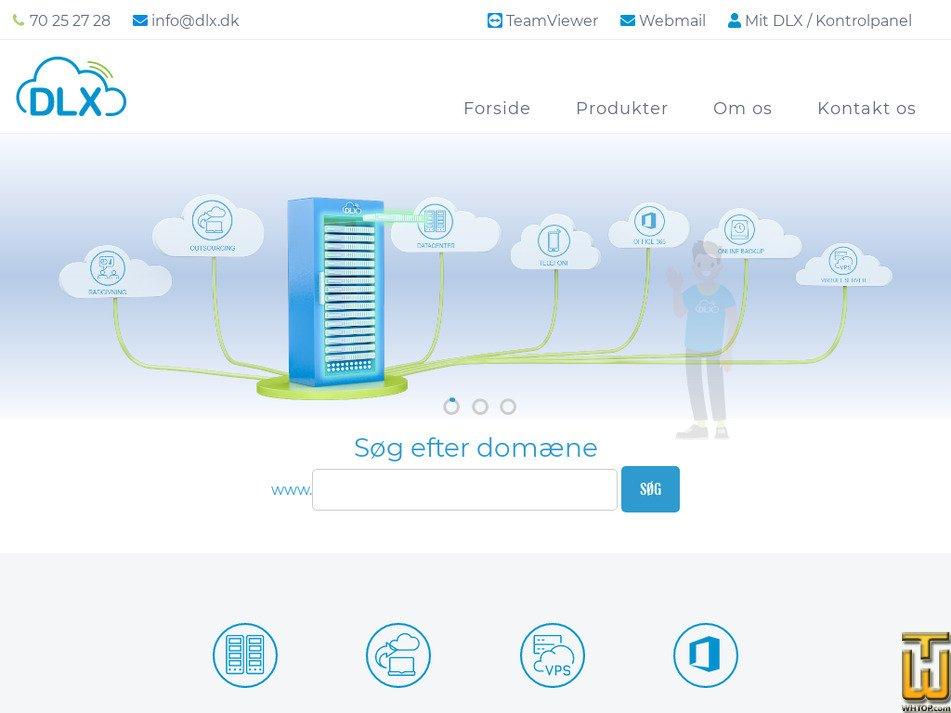 dlx.dk Screenshot