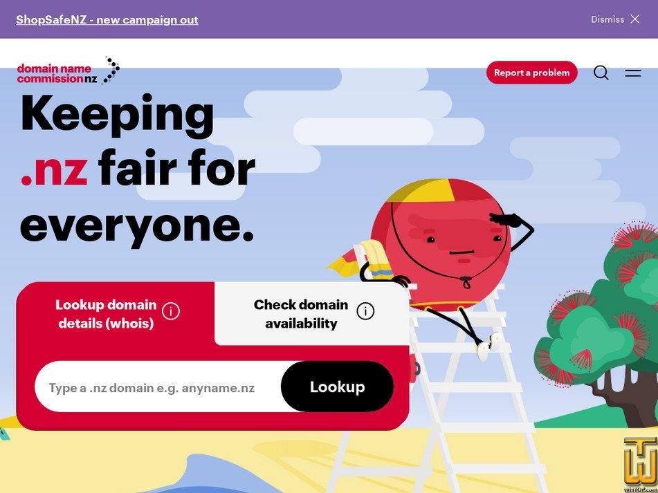 dnc.org.nz Screenshot