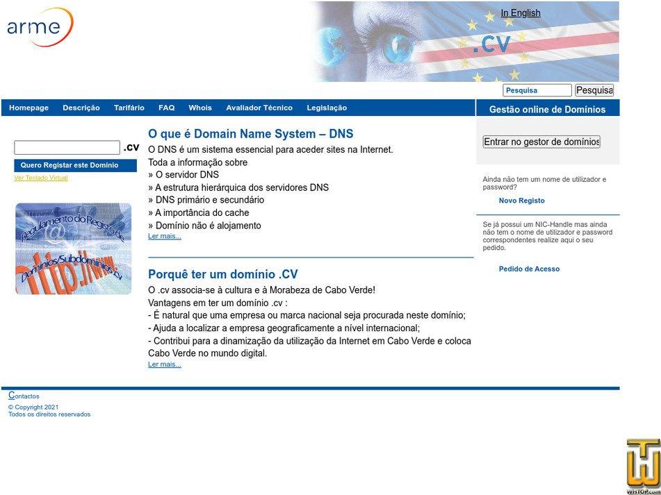 dns.cv Screenshot