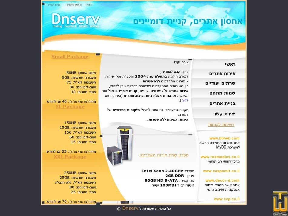 dnserv.net Screenshot
