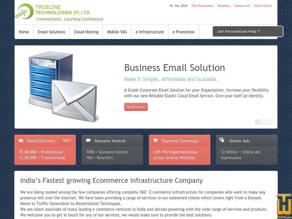 dnspointers.com Screenshot