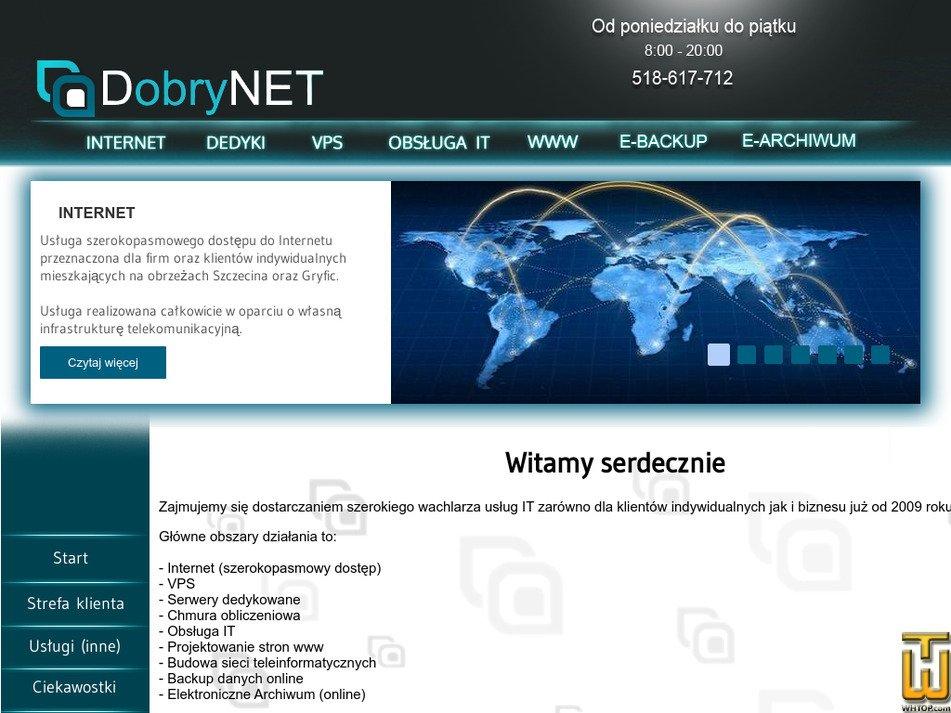 dobrynet.eu Screenshot