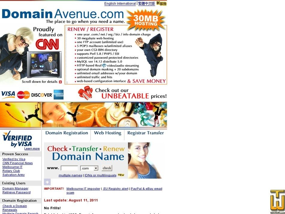 domainavenue.com Screenshot