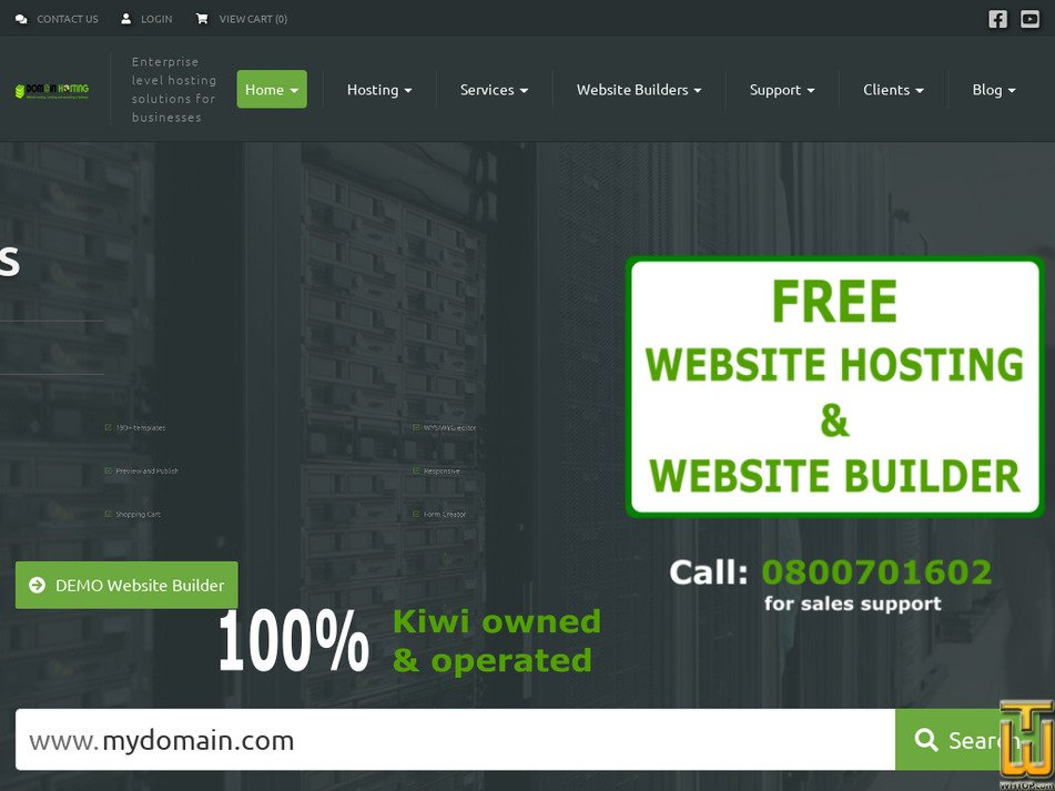 domainhosting.co.nz Screenshot
