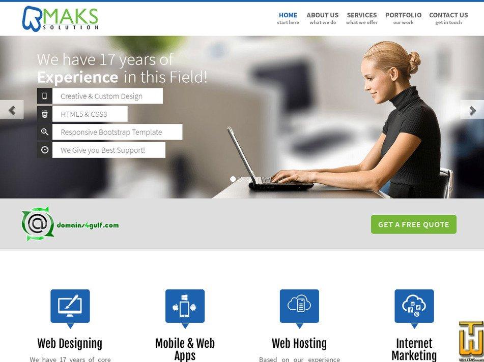 domains4gulf.com Screenshot