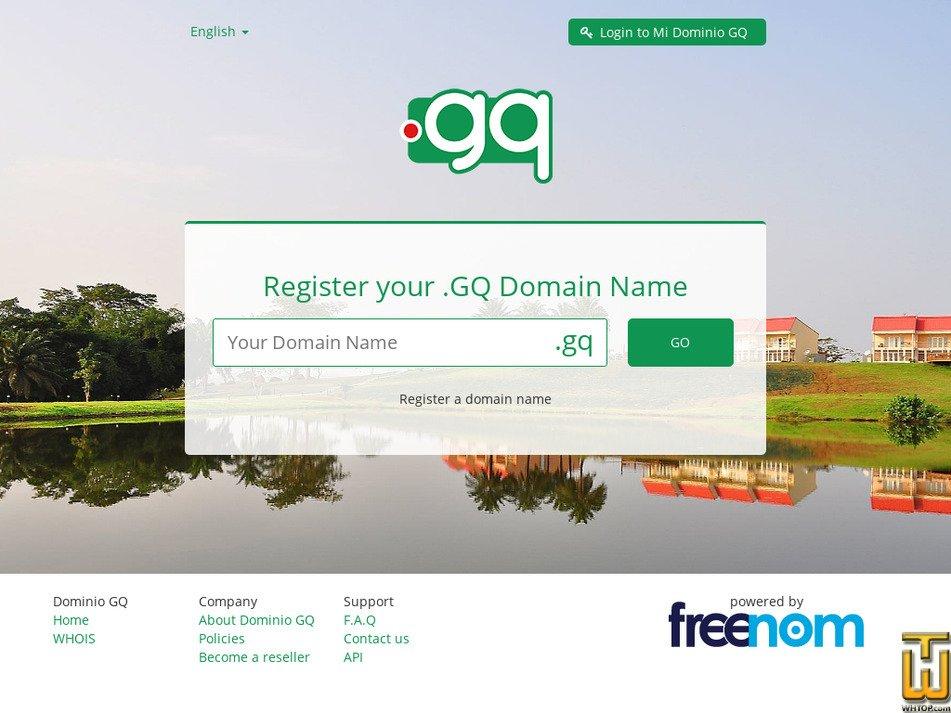 Dominio Review 2019  dominio gq good host in Equatorial Guinea?