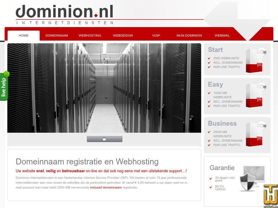 dominion.nl Screenshot