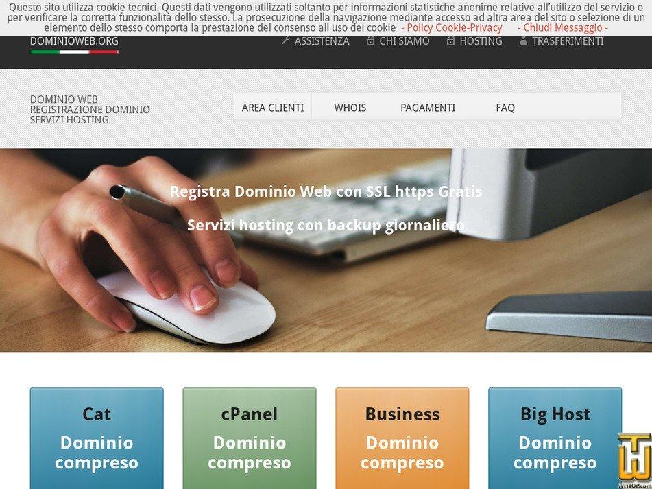 dominioweb.org Screenshot