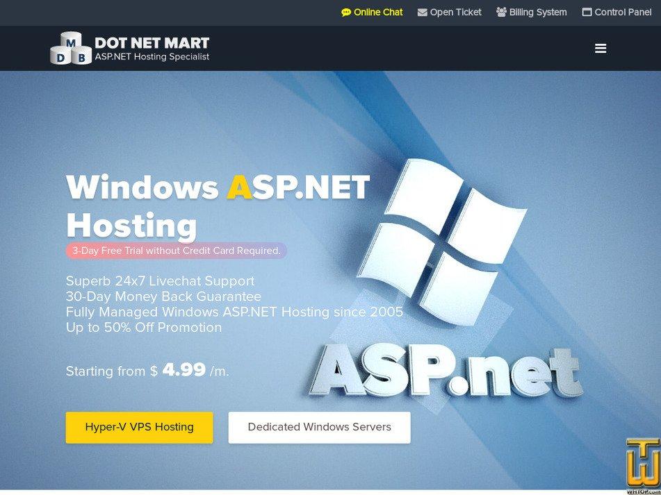 dotnetmart.com Screenshot
