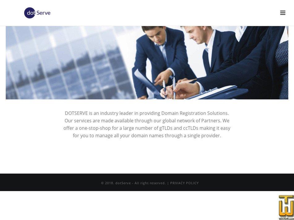 dotserve.website screenshot